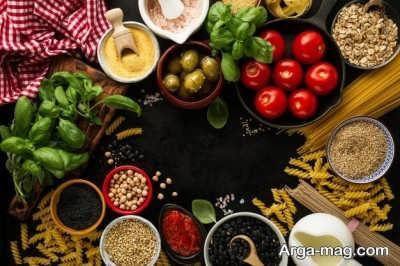 کترینگ مواد غذایی