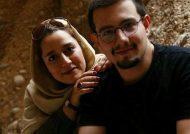 عکس سالگرد امیر کاظمی و همسرش