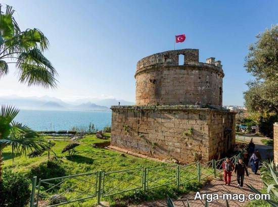 بنای تاریخی در آنتالیا