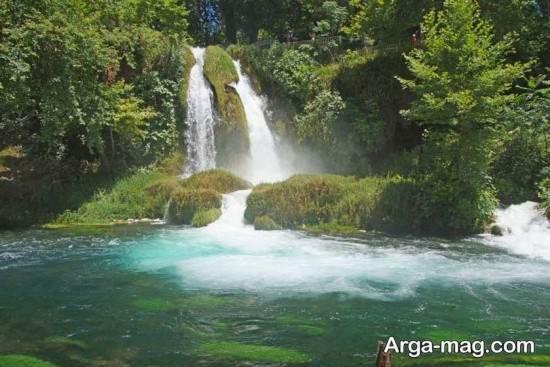 آبشار در آنتالیا