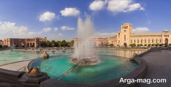 مکان های توریستی ارمنستان