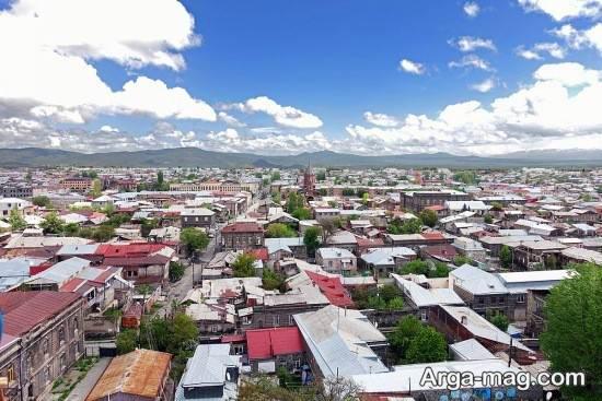 ارمنستان و دیدنی تاریخی