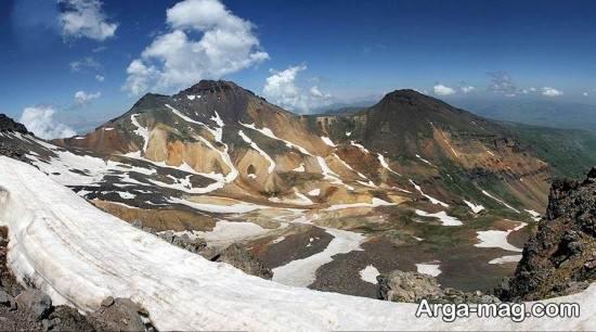 ارتفاعات ارمنستان