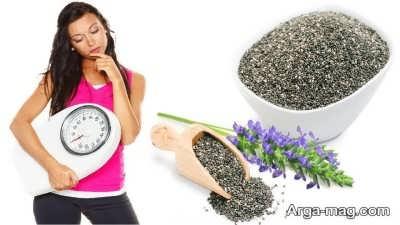 کاهش وزن با خواص دانه چیا