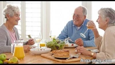 غلات صبحانه مخصوص افراد سالمند