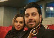 عکس های زیبا احسان خواجه امیری و همسرش