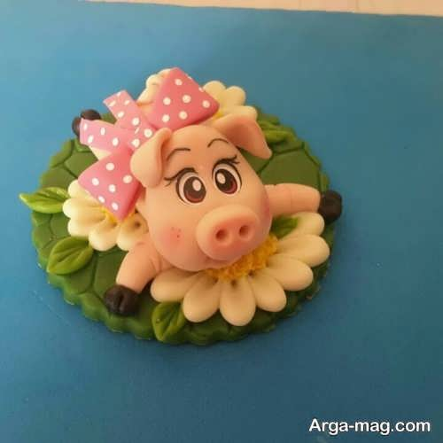عروسک خمیر چینی خوک