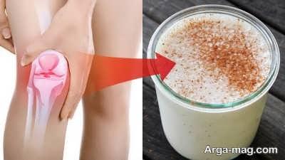 شیر بادام و درمان درد مفصل