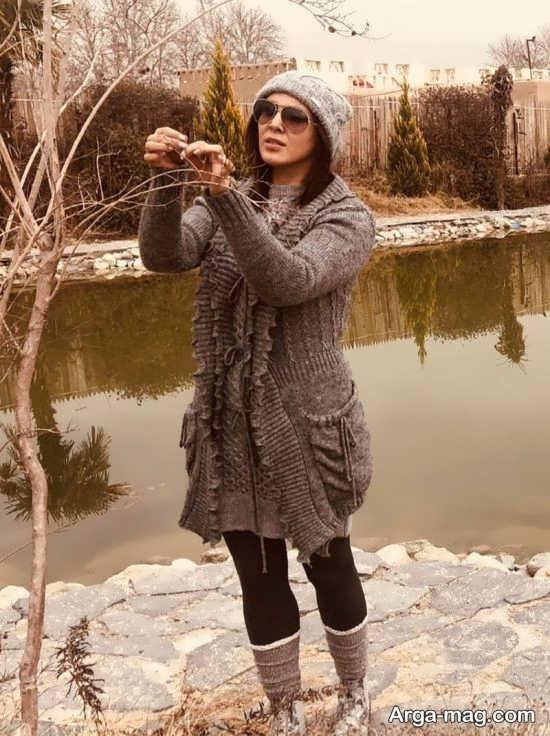 تیپ زمستانی لیلا بلوکات