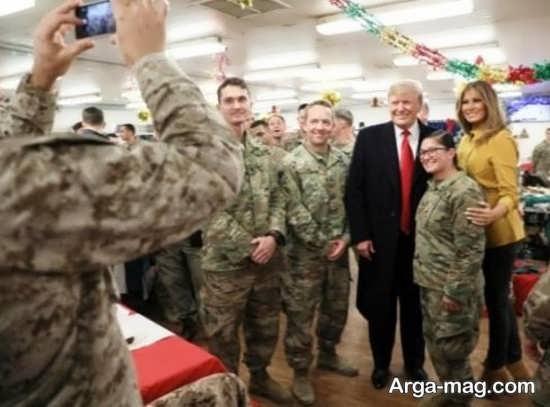 همسر ترامپ و ترفند جدیدش