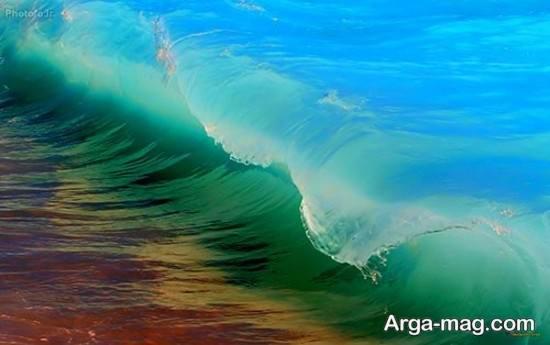 نقاشی دوست داشتنی دریا