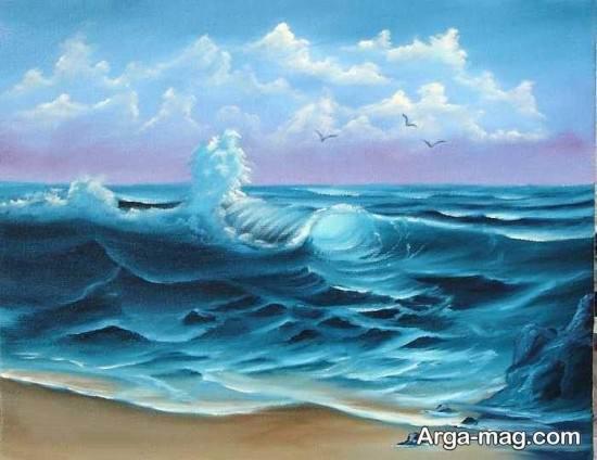نقاشی های دریا