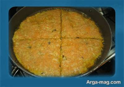 کوکوی هویج خوشمزه