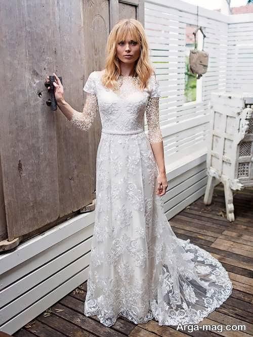مدل پیراهن عروس زیبا و جدید