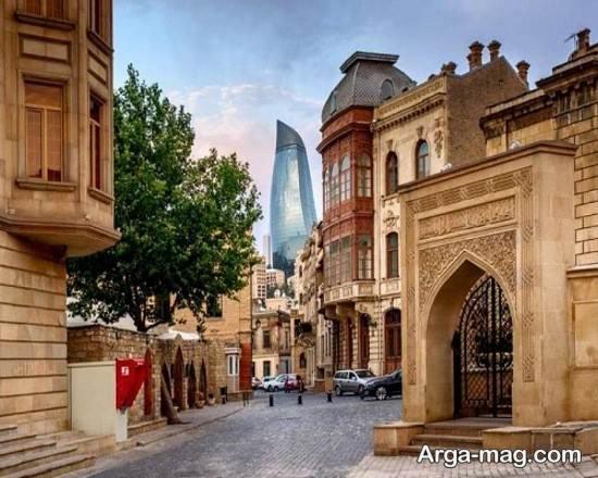 مکان های گردشگری آذربایجان