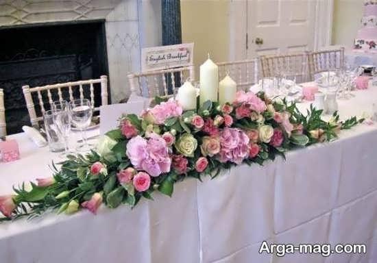 گل آرایی میز تولد با ایده جذاب