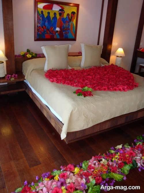 تزیین اتاق خواب برای عروس