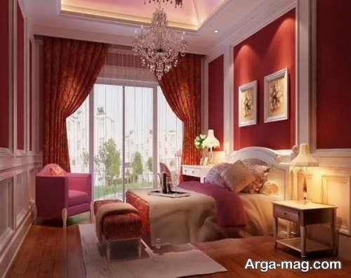 دکوراسیون زیبا و مدرن اتاق خواب عروس