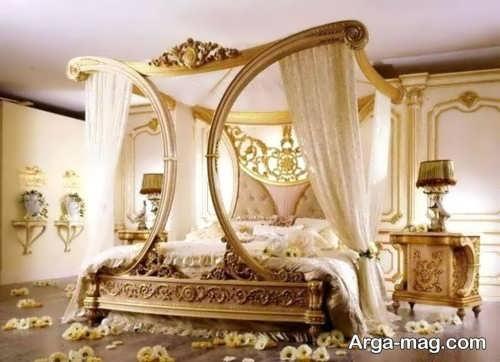 دکوراسیون کلاسیک اتاق خواب برای عروس