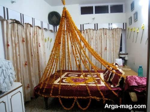 طراحی داخلی اتاق خواب برای عروس