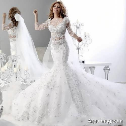 مدل لباس عروس زیبا و جذاب