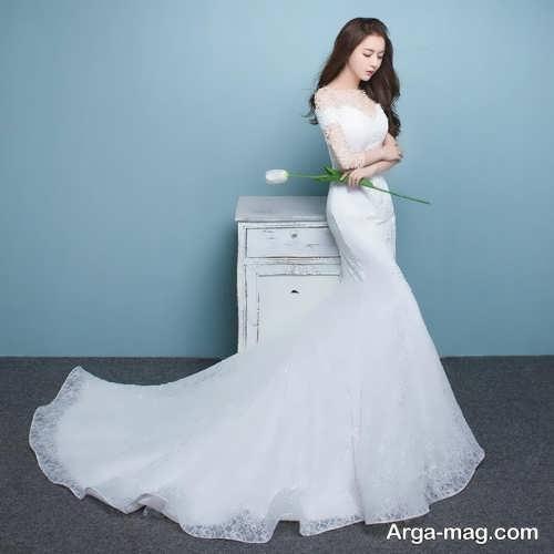 مدل پیراهن عروس کره ای