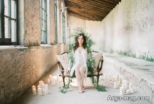 ژست عکس برای عروس