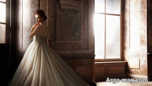 ژست زیبا و جالب برای عکس عروس