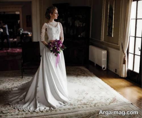 فیگور جالب عکس عروس