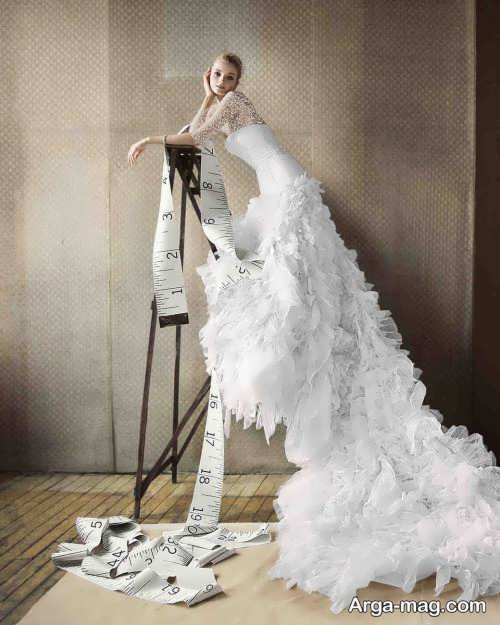 ژست جالب برای عکس عروس
