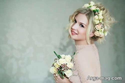 مدل ژست عکاسی عروس
