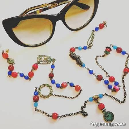 بند رنگی عینک