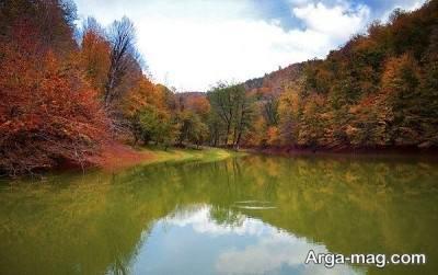 دریاچه سرسبز و جذاب چورت