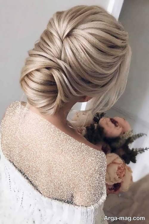 مدل شینیون موی بسته