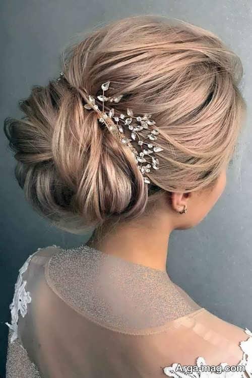 مدل شینیون عروس 2019