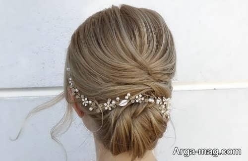 مدل آرایش مو برای عروس