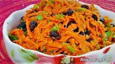 طرز تهیه سالاد هویج