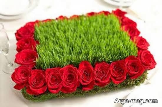 تزیینات سبزه عروس