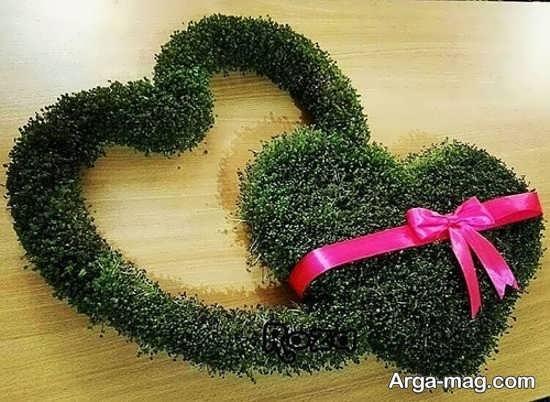 تزیینات رمانتیک سبزه عروس