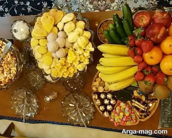 جالب ترین تزیین میز پذیرایی عید نوروز