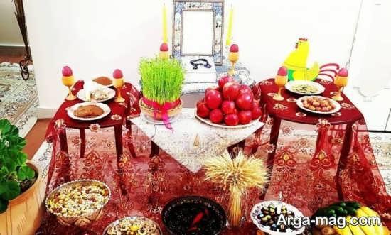دیزاین عالی میز پذیرایی عید نوروز