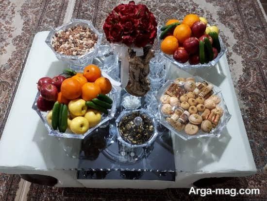 دیزاین دوست داشتنی میز پذیرایی عید نوروز