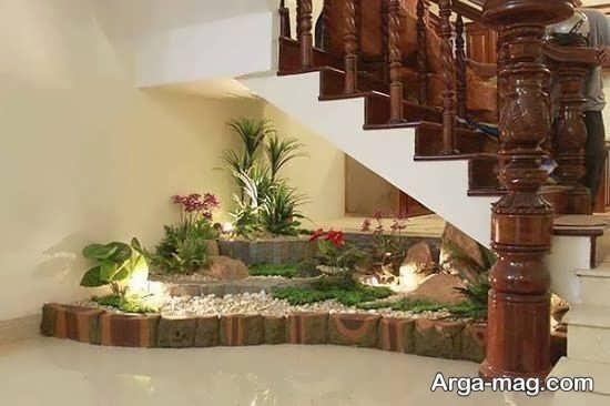 دیزاین زیر راه پله با طراحی جدید