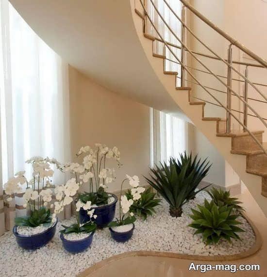 دیزاین زیر راه پله با طراحی خلاقانه