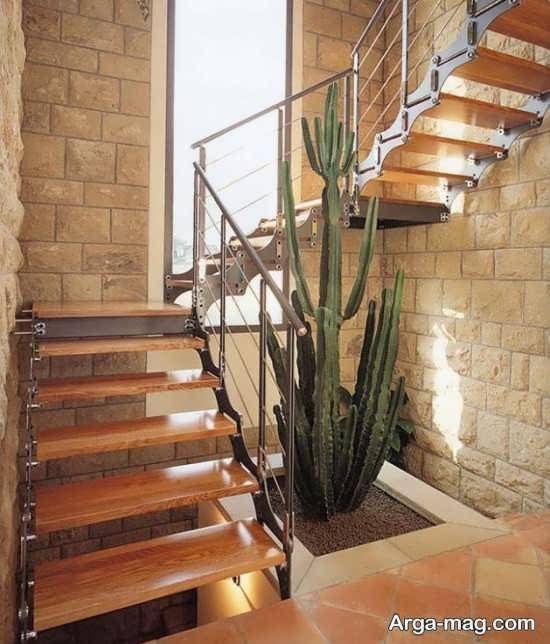 دیزاین زیر راه پله با طراحی به روز