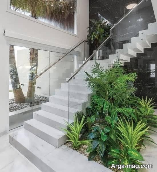 دیزاین زیر راه پله با طراحی متفاوت