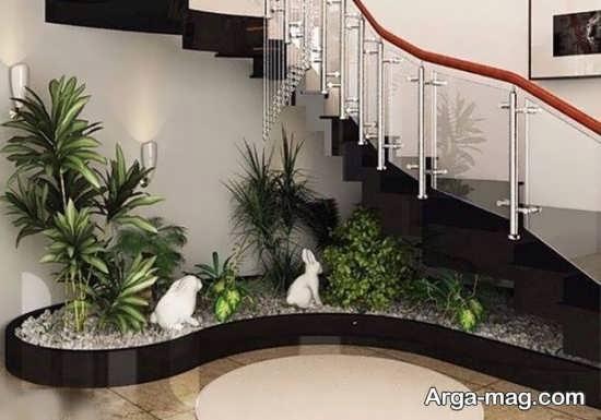 دیزاین زیر راه پله با طراحی دوست داشتنی