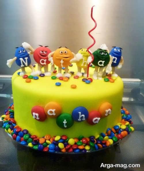 تزئین زیبا و فانتزی کیک