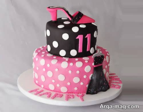 تزیین کیک برای تولد
