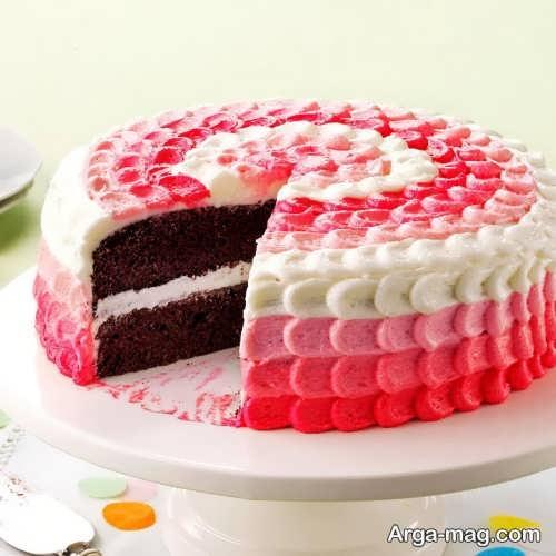 تزیین ساده کیک